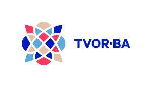 TVOR•BA logo horizontálne farebné