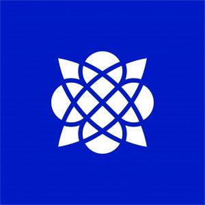 TVOR•BA piktogram modrý inverzný